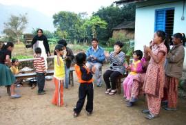ネパール 子どもの家2007.12